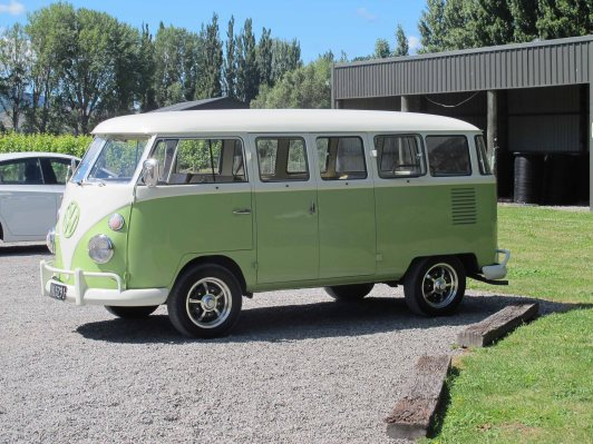 Tour the vineyards in a restored VW Kombi with Highlight Wine Tours.