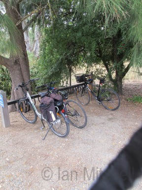 Bikes at the ready