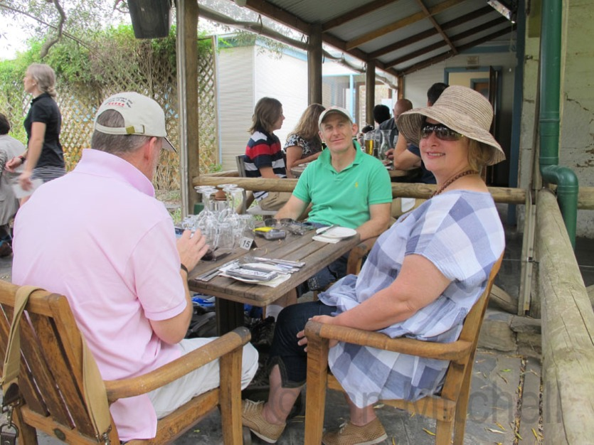 The Gang lunching at Skillogalee Wines