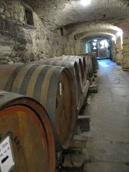 Barrells at Sevenhill Cellars