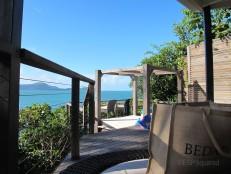 Our villa's terrace